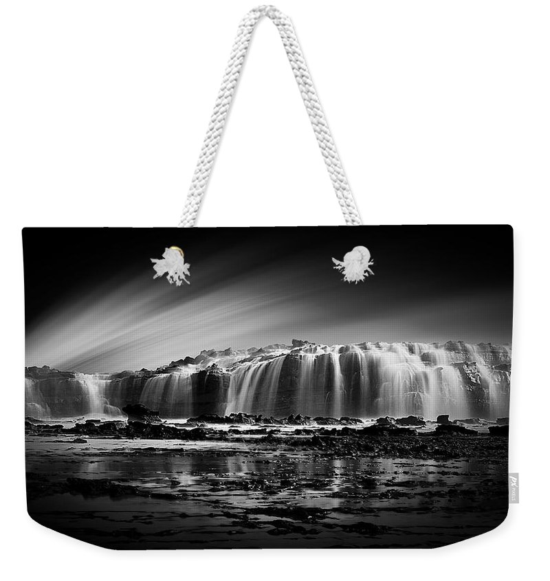 Water Weekender Tote Bag featuring the photograph Waterfall by FL collection