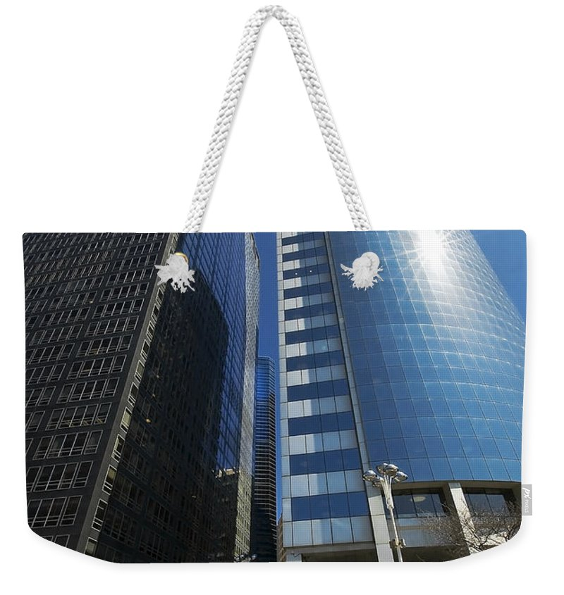 America Weekender Tote Bag featuring the photograph New York by Svetlana Sewell