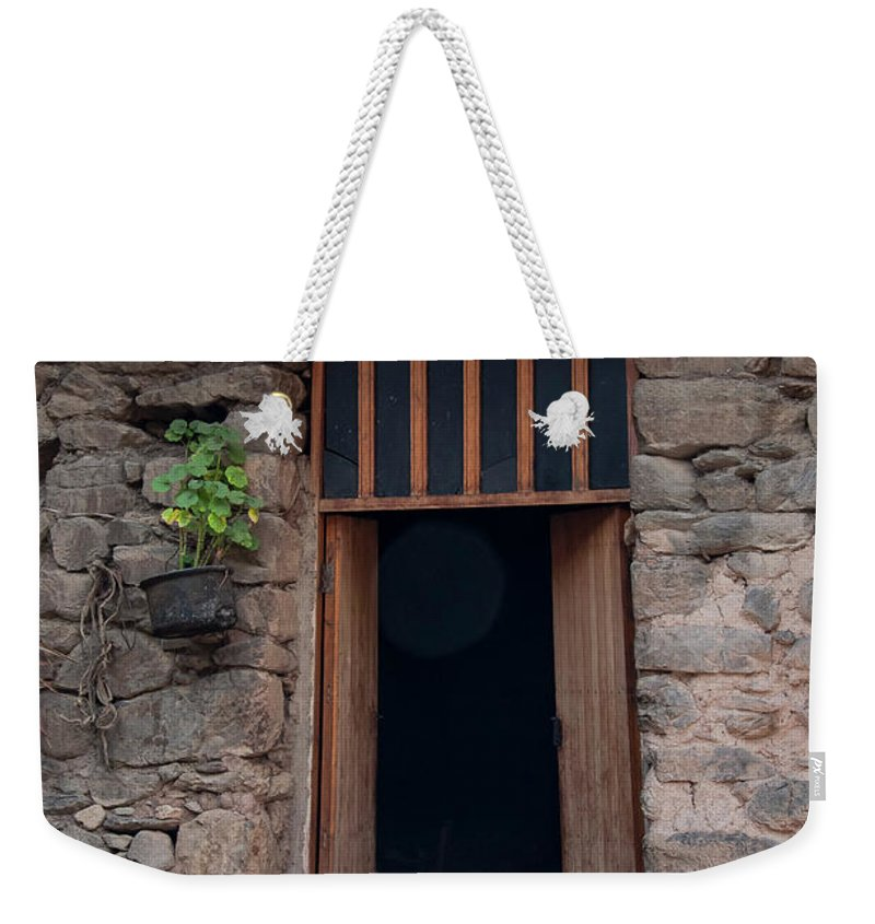 Ollantaytambo Weekender Tote Bag featuring the photograph Resting Place by Bob Phillips