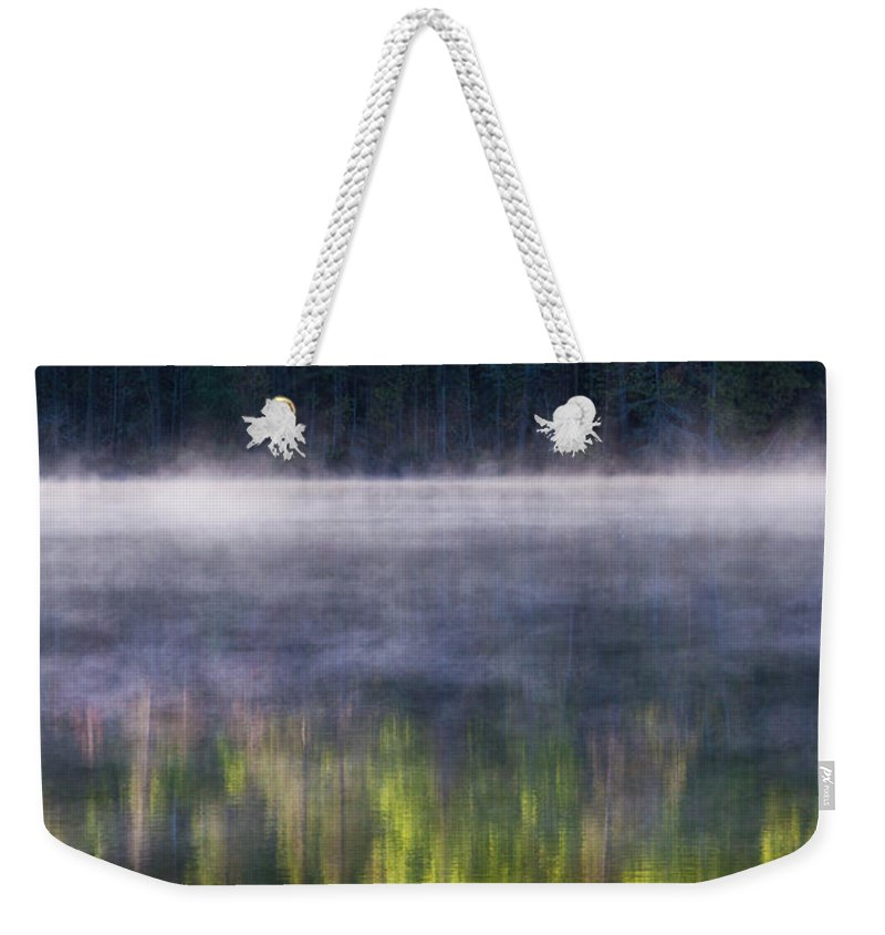 Summer Weekender Tote Bag featuring the photograph Summer Morning by Mircea Costina Photography