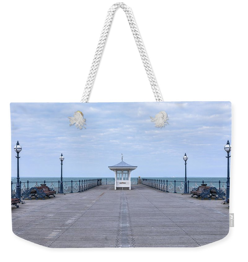 Swanage Weekender Tote Bag featuring the photograph Swanage - England by Joana Kruse