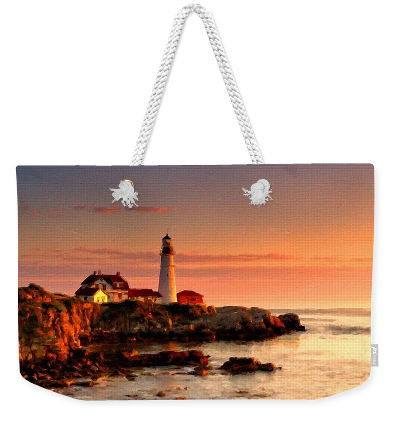 Pro Weekender Tote Bag featuring the digital art Landscape Planting by Usa Map
