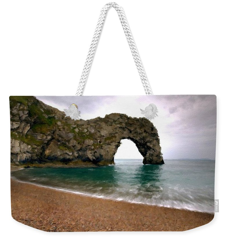 Poster Weekender Tote Bag featuring the digital art Nature Art by Usa Map