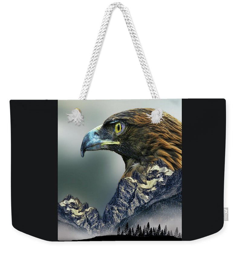 Totem Weekender Tote Bag featuring the photograph 4397 by Peter Holme III