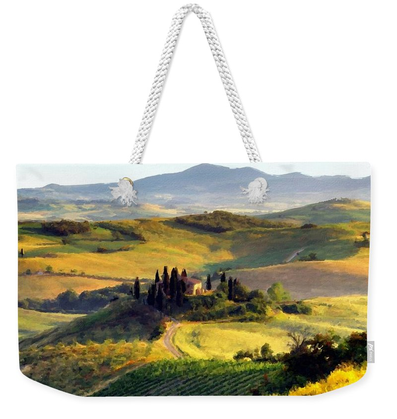 C Weekender Tote Bag featuring the digital art Nature Art by Usa Map