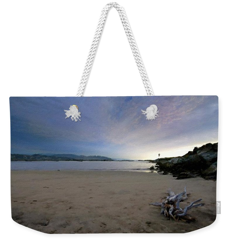 Cool Weekender Tote Bag featuring the digital art Landscapes To Paint by Usa Map