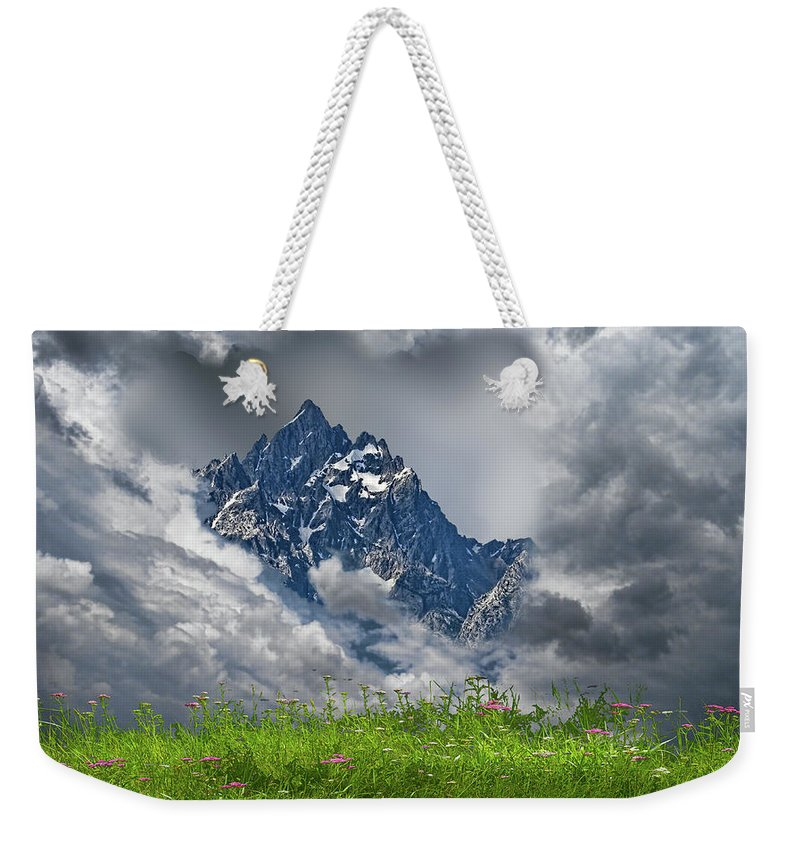 Mountains Weekender Tote Bag featuring the photograph 4742 by Peter Holme III