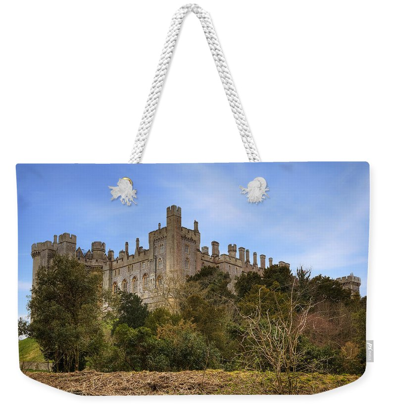 Arundel Castle Weekender Tote Bag featuring the photograph Arundel Castle by Joana Kruse