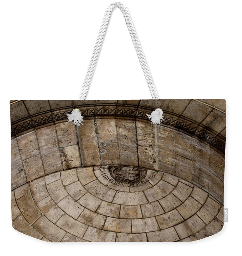 Cathedral Weekender Tote Bag featuring the digital art Basilica Du Sacre-coeur De Montmartre by Carol Ailles