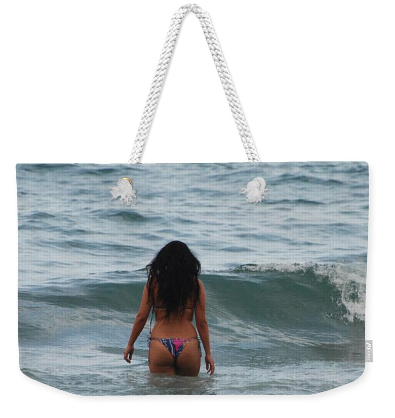 Sexy Weekender Tote Bag featuring the photograph Brazilian Beauty by Rob Hans