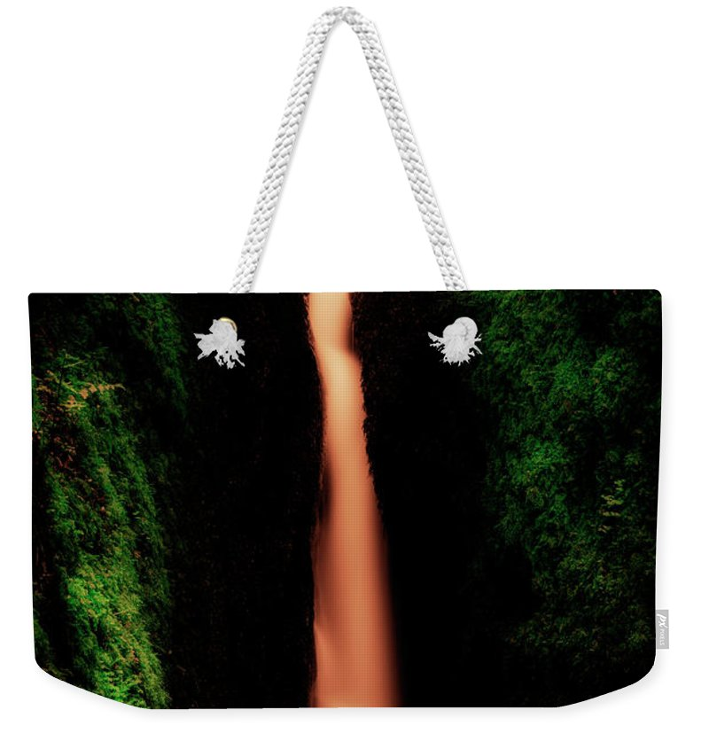 Nature Weekender Tote Bag featuring the photograph Dollar Glen In Clackmannanshire by Jeremy Lavender Photography