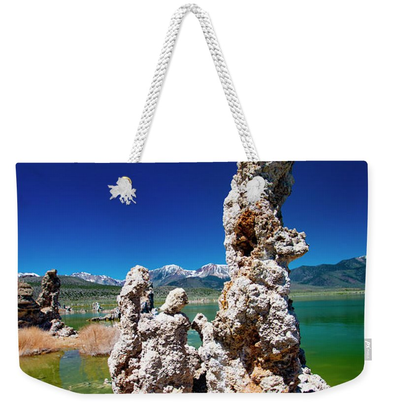 Tufa Formations Weekender Tote Bag featuring the photograph Mono Lake Tufa by Mark Jackson