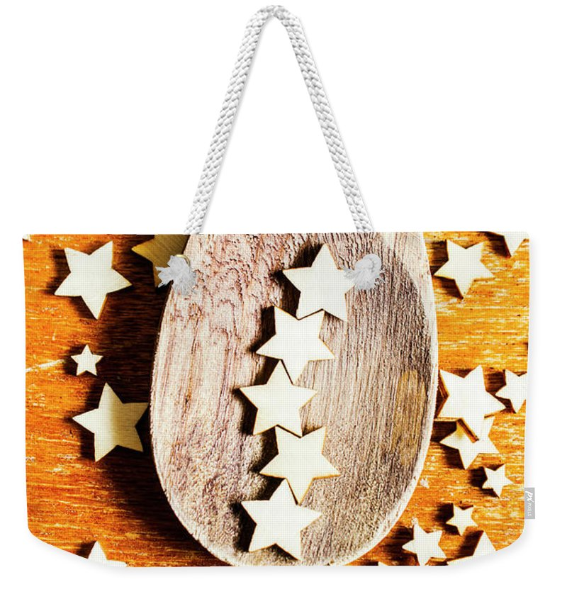 Star Weekender Tote Bag featuring the photograph 5 Star Catering And Restaurant Award by Jorgo Photography - Wall Art Gallery