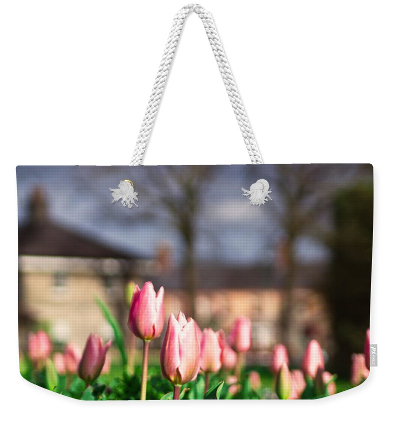 Wood Weekender Tote Bag featuring the photograph Together by Alex Art and Photo