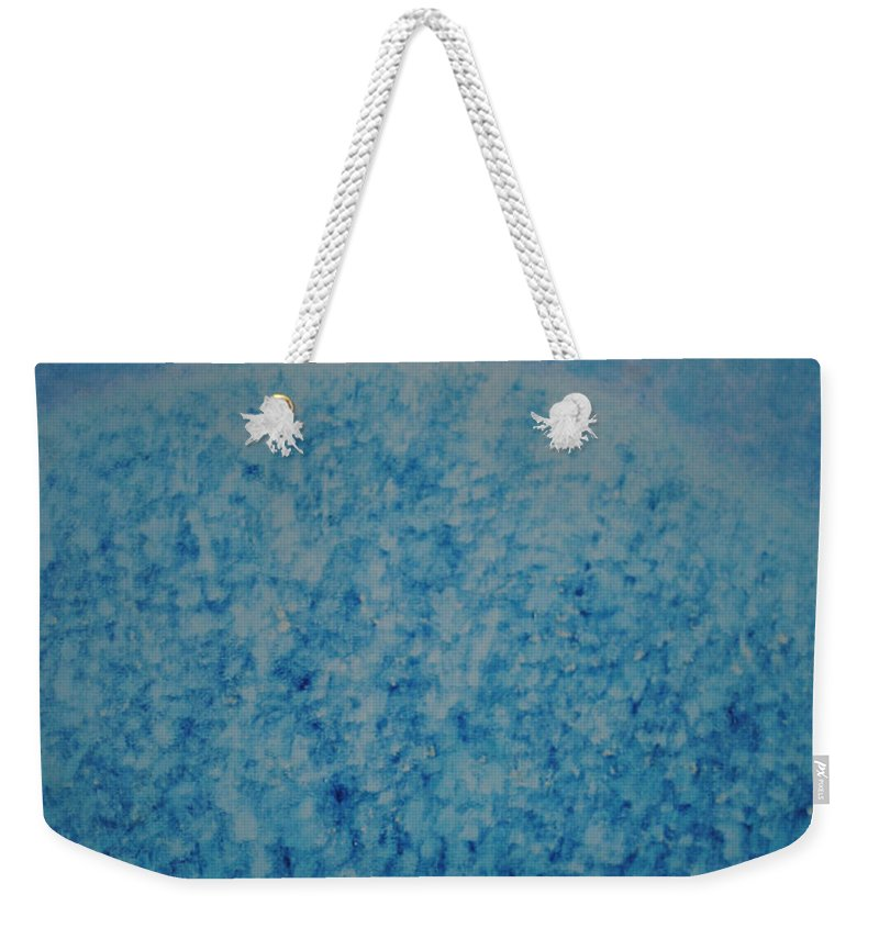 Inspirational Weekender Tote Bag featuring the painting Calm Mind by Kyung Hee Hogg