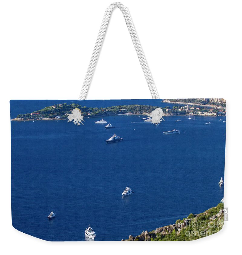 Èze Weekender Tote Bag featuring the photograph Eze, Alpes-maritimes Department, France by Ohad Shahar