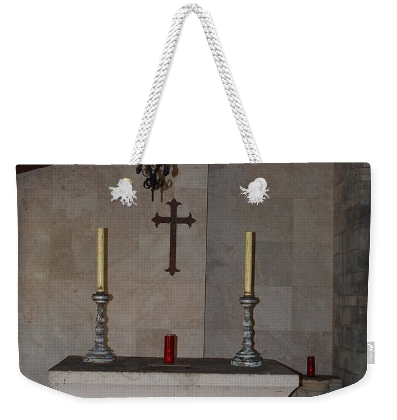 Architecture Weekender Tote Bag featuring the photograph Miami Monastery by Rob Hans