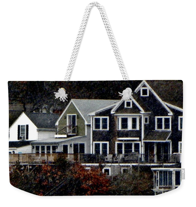 Weekender Tote Bag featuring the photograph South Terrace by Scott Hufford