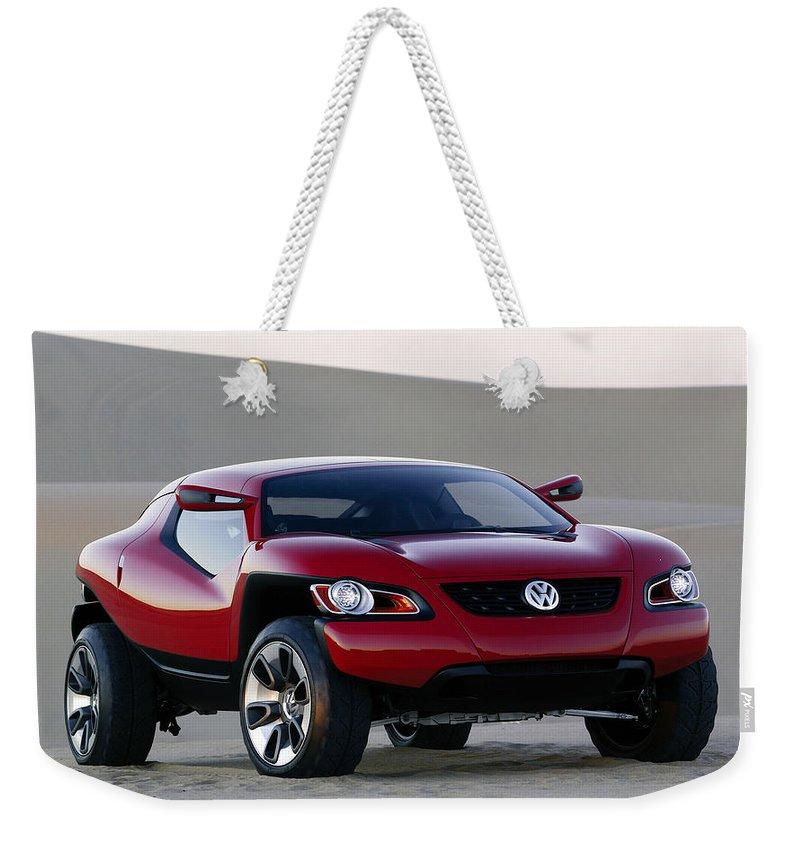 Volkswagen Weekender Tote Bag featuring the photograph Volkswagen 6 by Mariel Mcmeeking