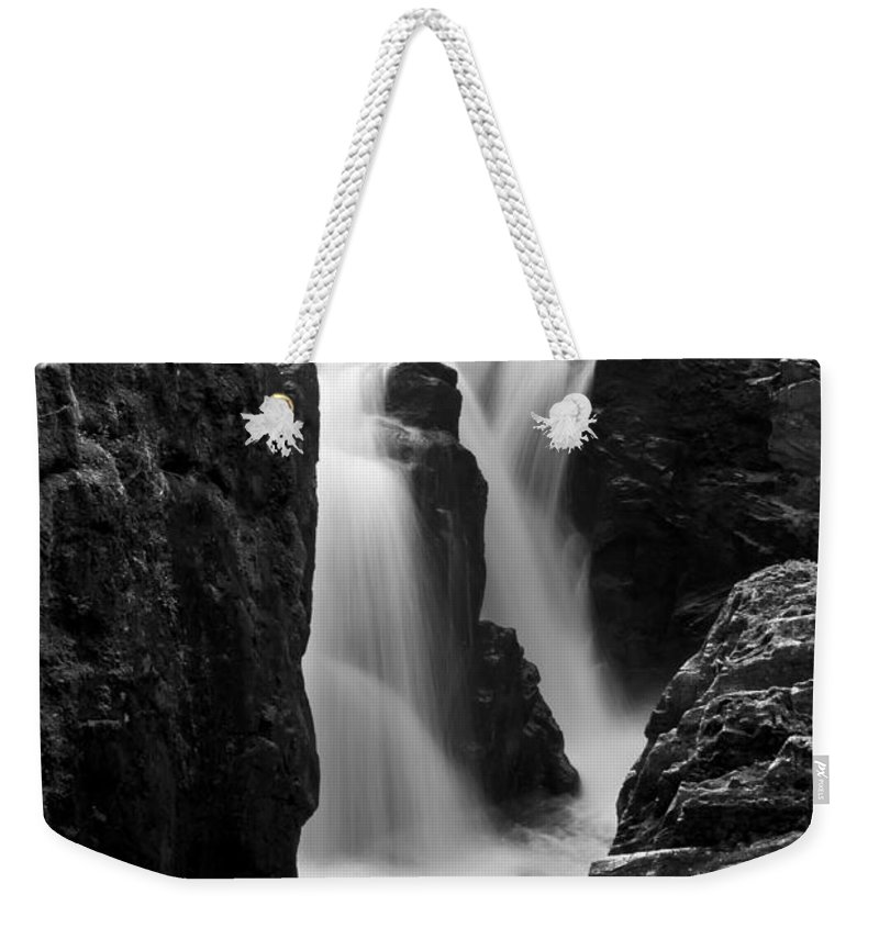 Beautiful Weekender Tote Bag featuring the photograph Waterfall by Svetlana Sewell