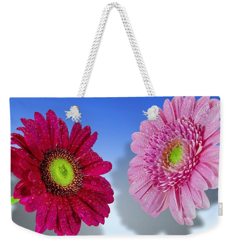 Flower Weekender Tote Bag featuring the photograph Flowers by FL collection