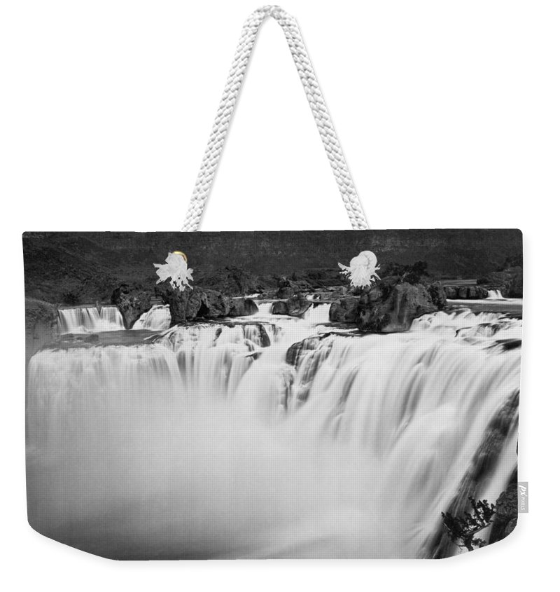 1868 Weekender Tote Bag featuring the photograph Idaho: Shoshone Falls by Granger