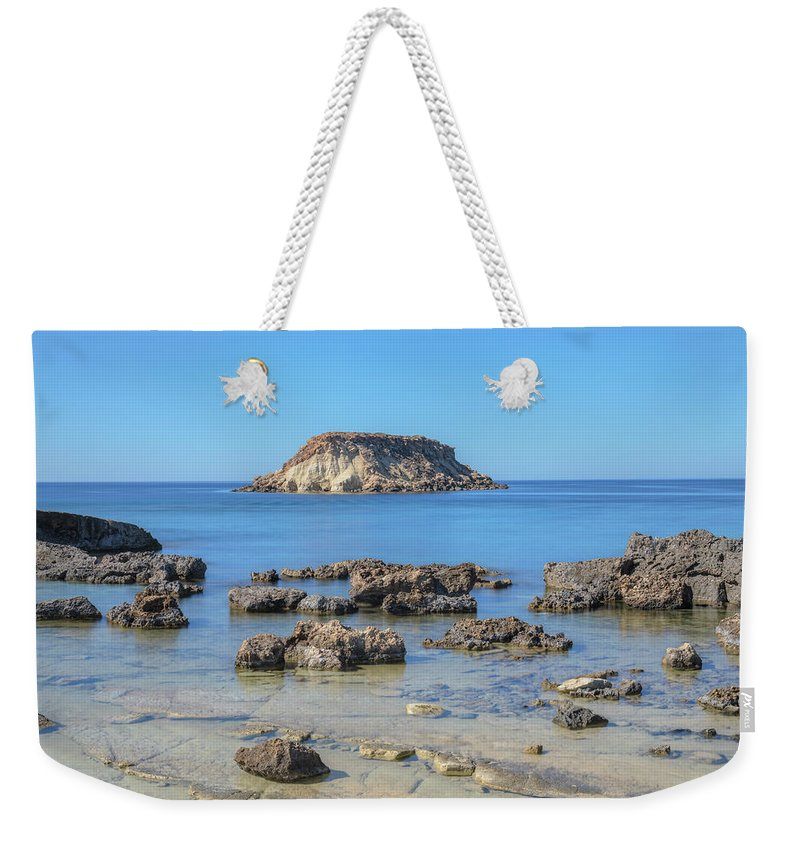 Agios Georgios Weekender Tote Bag featuring the photograph Pegeia - Cyprus by Joana Kruse