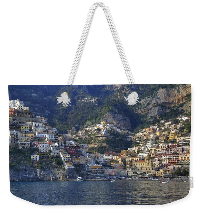 Positano Weekender Tote Bag featuring the photograph Positano - Amalfi Coast by Joana Kruse