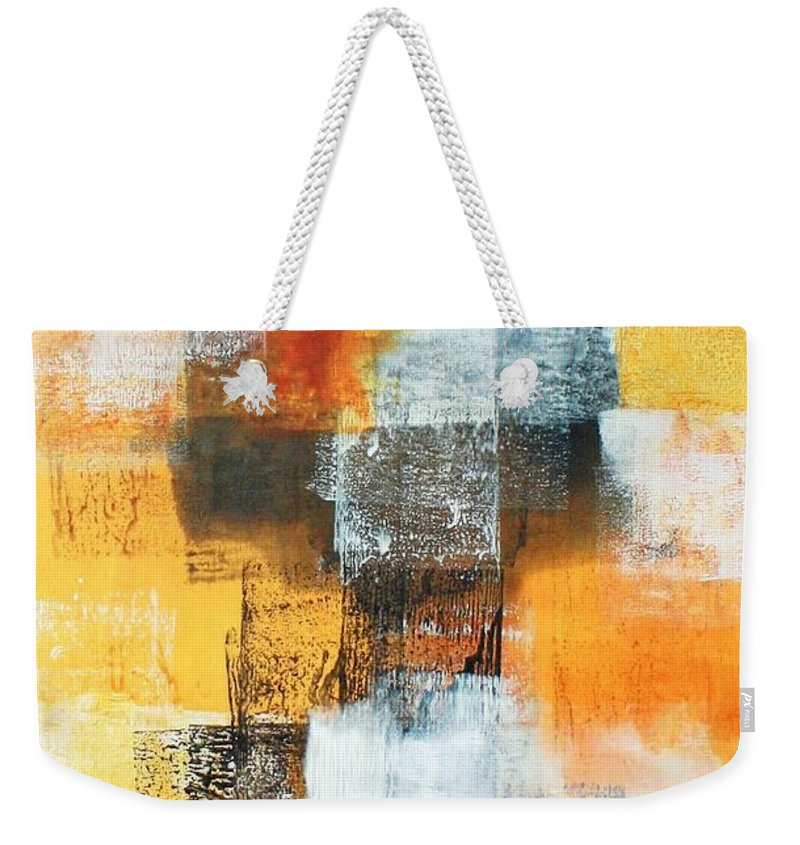 Art Weekender Tote Bag featuring the painting Untitled by William Hartill