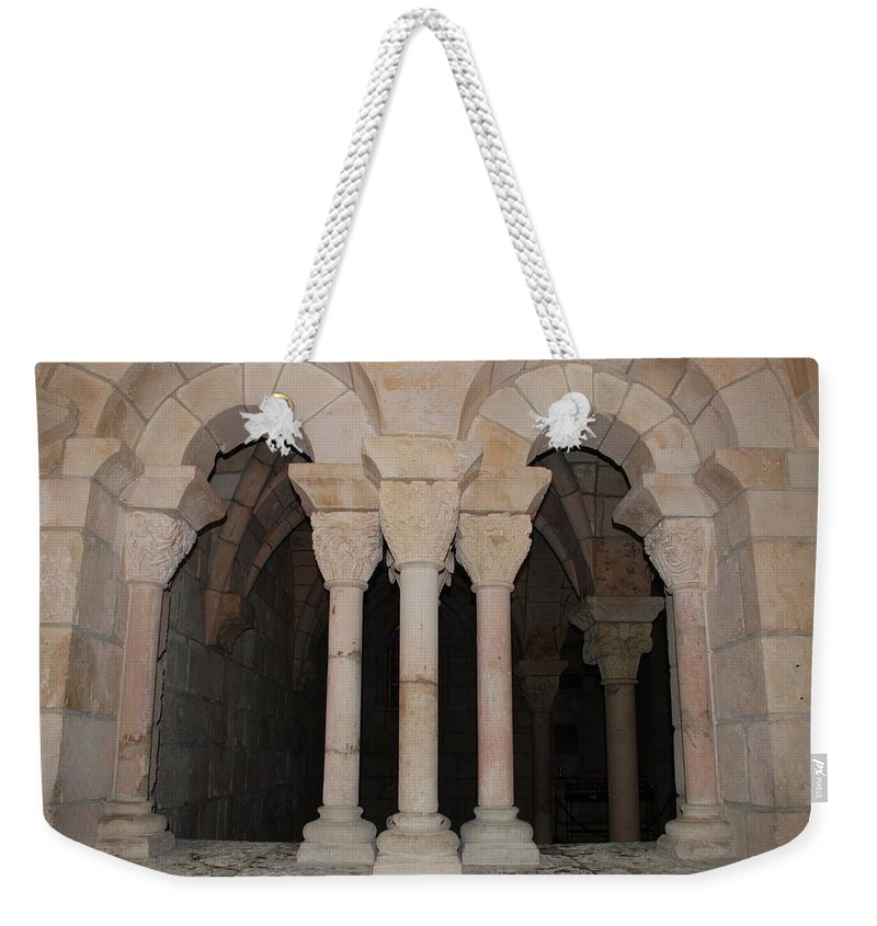 Arches Weekender Tote Bag featuring the photograph Miami Monastery by Rob Hans