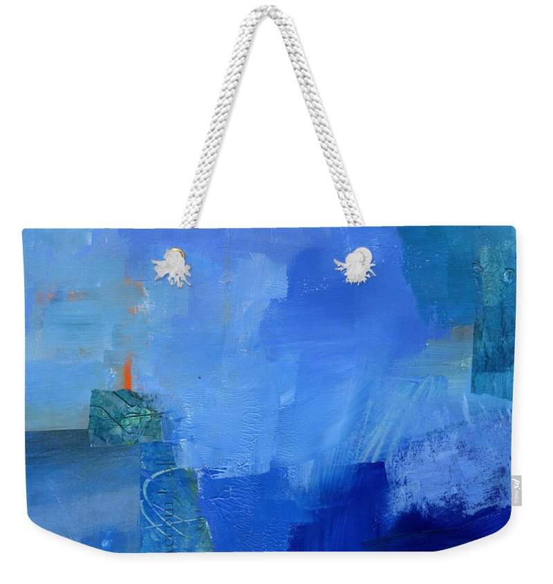 Painting Paintings Weekender Tote Bag featuring the painting 88/100 by Jane Davies