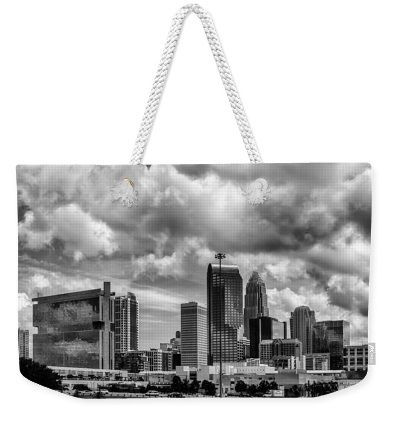 America Weekender Tote Bag featuring the photograph Charlotte North Carolina by Alex Grichenko