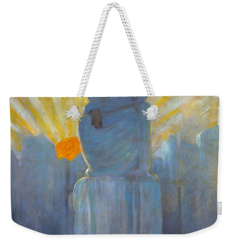 1916 Weekender Tote Bag featuring the painting The Water Babies by Granger