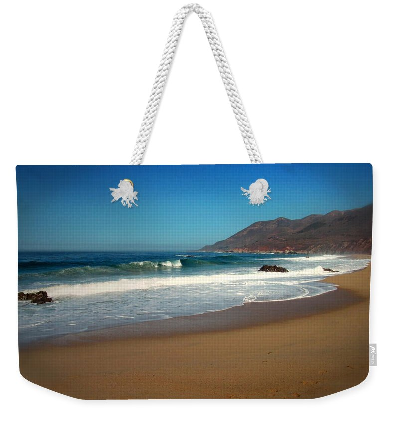 Garapata-state-park Weekender Tote Bag featuring the photograph A Beautiful Day At Garapata Beach by Joyce Dickens