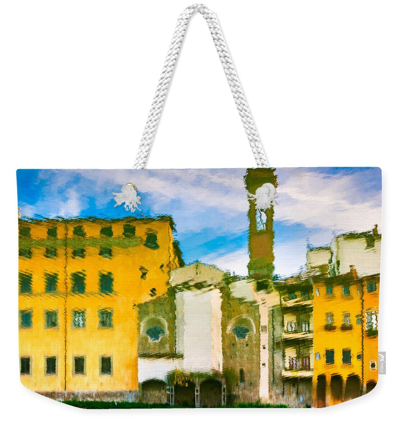 Alfio Finocchiaro Weekender Tote Bag featuring the photograph A Breeze Over Florence by Alfio Finocchiaro