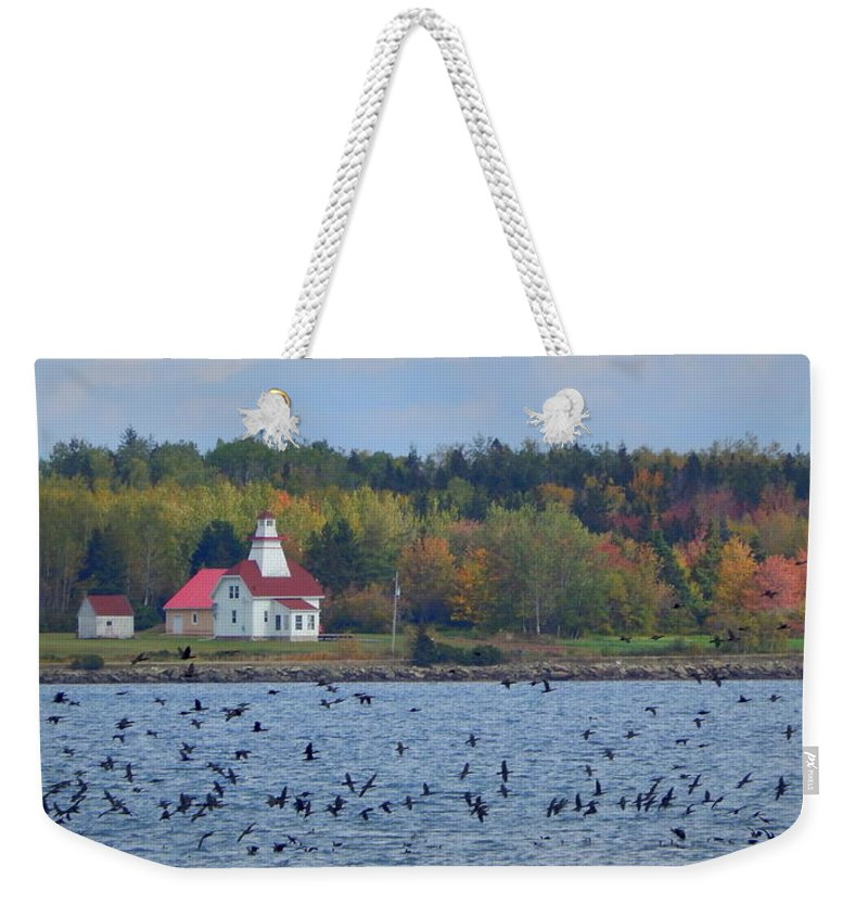 A Day In Wallace Weekender Tote Bag featuring the photograph A Day In Wallace by Karen Cook