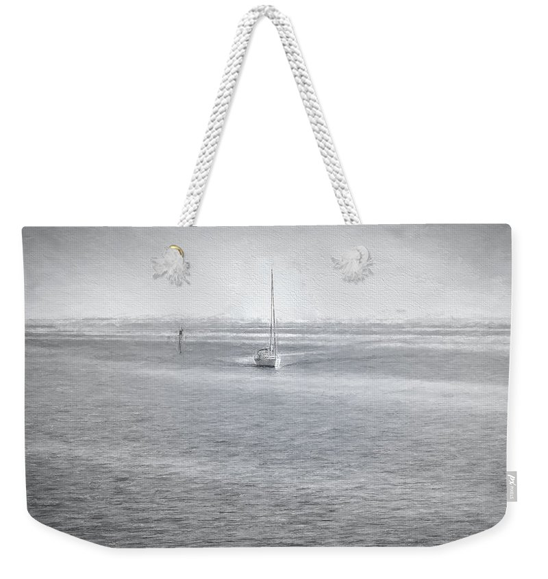 Art Weekender Tote Bag featuring the photograph A Day On The Water by John M Bailey