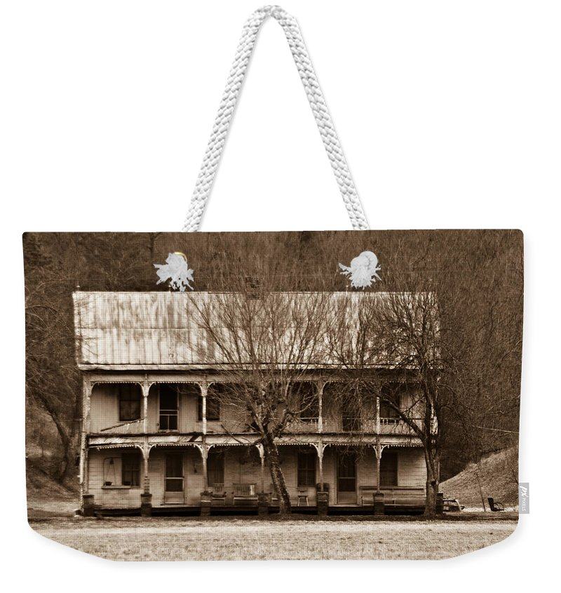 House Weekender Tote Bag featuring the photograph A House From The Past by Douglas Barnett