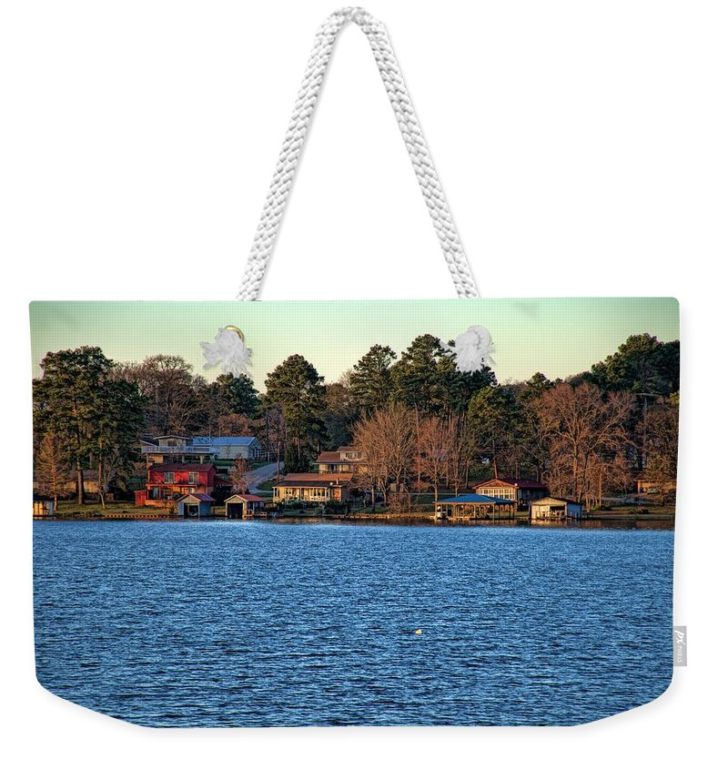 Diana Mary Sharpton Photography Weekender Tote Bag featuring the photograph A Little Bit Of Paradise by Diana Mary Sharpton