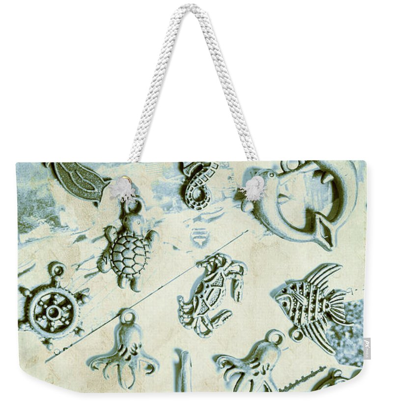 Aquatic Weekender Tote Bag featuring the photograph A Maritime Design by Jorgo Photography - Wall Art Gallery
