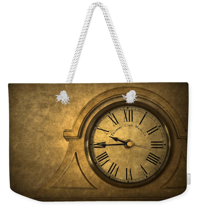 Time Weekender Tote Bag featuring the photograph A Moment In Time by Evelina Kremsdorf