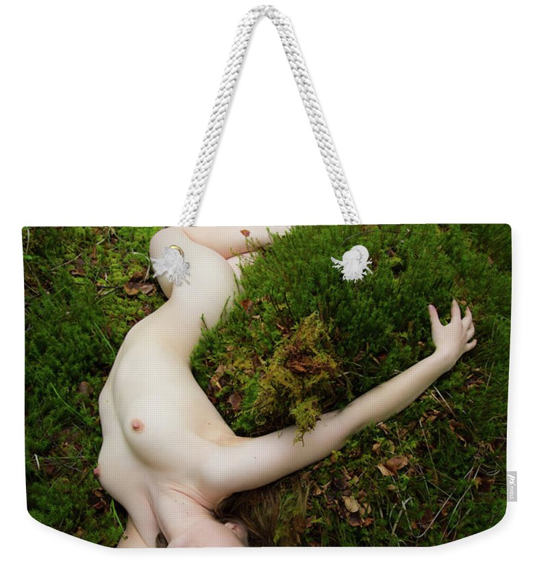 Art Weekender Tote Bag featuring the photograph A Natural Mattress Of Moss. by Andy Bradley