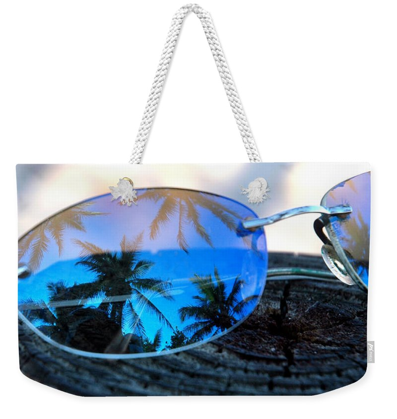 Sunglasses Weekender Tote Bag featuring the photograph A Nice Dream by Susanne Van Hulst