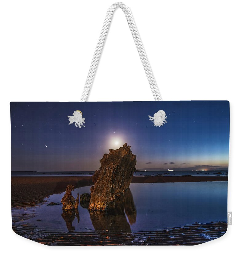 Night Weekender Tote Bag featuring the photograph A Peaceful Night by Thomas Morrison
