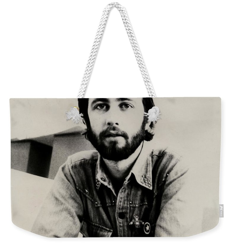 Young Man Weekender Tote Bag featuring the photograph A Portrait Of The Artist As A Young Man by Charles Stuart