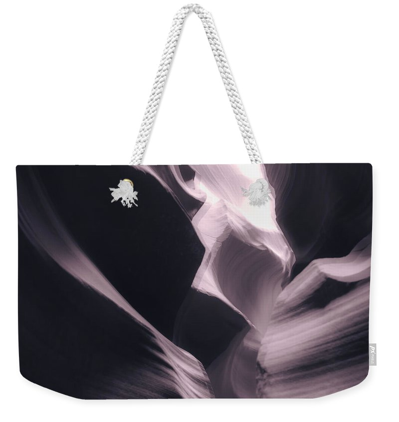 Landscape Weekender Tote Bag featuring the photograph A Purple Dream by Jonathan Nguyen