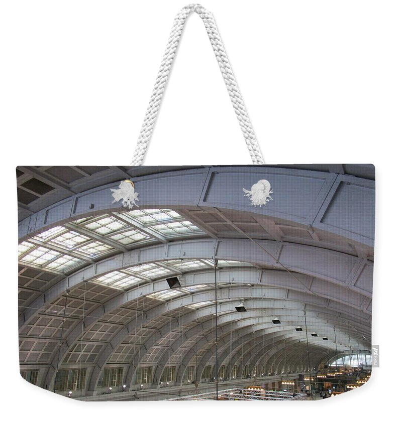 Windows Weekender Tote Bag featuring the photograph A Ray Of Light by Rosita Larsson
