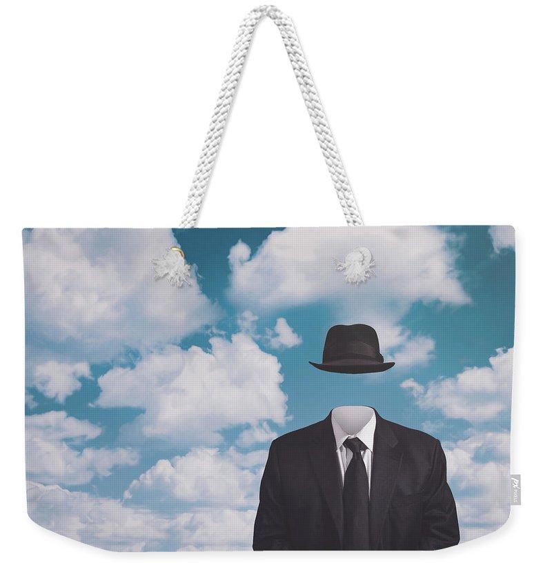 Black Suit Weekender Tote Bags
