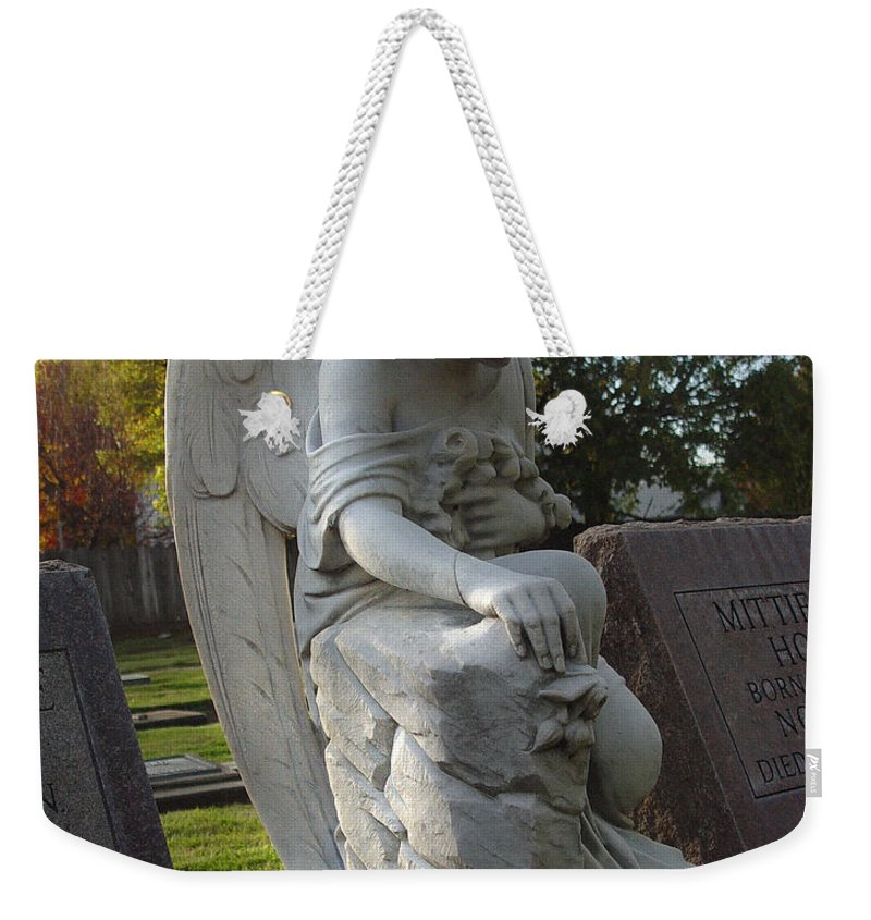 A Shadow Cast Over Thee Weekender Tote Bag featuring the photograph A Shadow Cast Over Thee by Peter Piatt