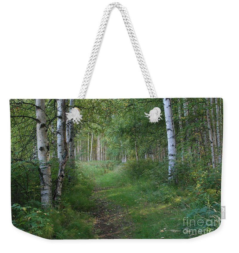 A Suspended Silence Weekender Tote Bag featuring the photograph A Suspended Silence Where The Wild Things Are by Sharon Mau